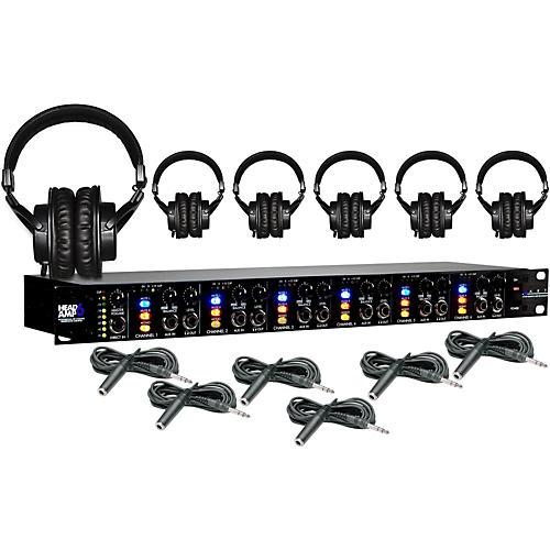 Art Headamp6 Tascam TH-200X Package ( 6-Pack)