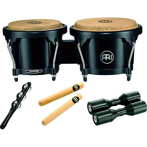 Meinl Headliner Bongo Percussion Pack with Free Shaker and Claves