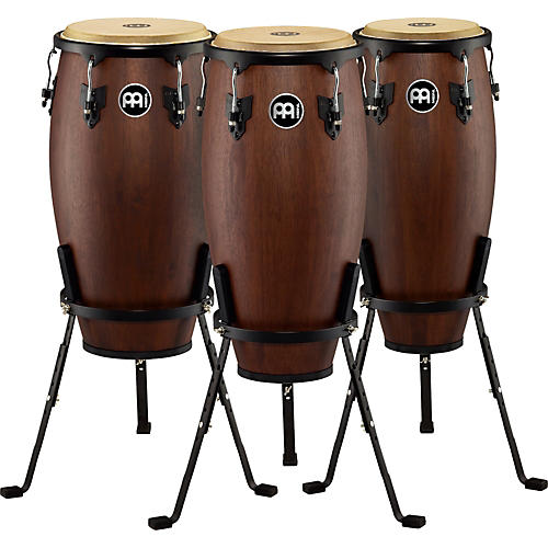 Meinl Headliner Designer 3-Piece Conga Set with Basket Stands-thumbnail