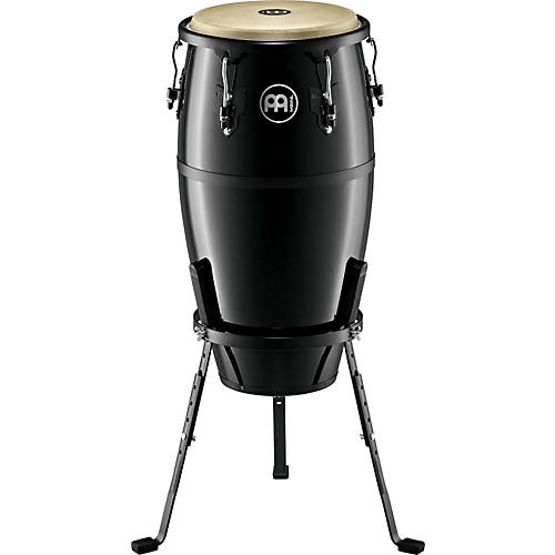 Meinl Headliner Fiberglass Series Tumba Conga Drum Black 12 in.