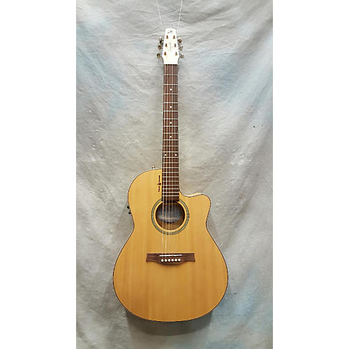 Seagull Heart Of Wild Cherrycw Folk T35 Acoustic Electric Guitar-thumbnail