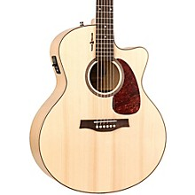 Seagull Heart of Wild Cherry CW Mini Jumbo SG Acoustic-Electric Guitar