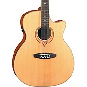 Luna Guitars Heartsong 12-String Acoustic-Electric Guitar With USB