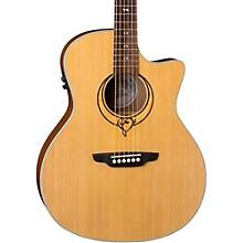 Luna Guitars Heartsong Grand Concert Acoustic-Electric Guitar Level 1 Natural