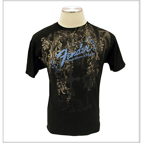 Fender Heaven's Gate T-Shirt Black Small