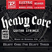 Dunlop Heavy Core Electric Guitar Strings - Heavier Gauge