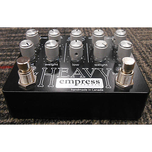 Empress Effects Heavy Dual-Channel Distortion Effect Pedal-thumbnail