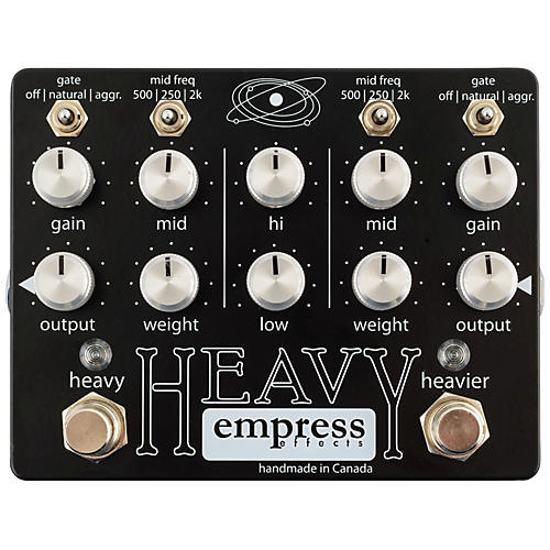 Empress Effects Heavy Dual-Channel Distortion Guitar Effects Pedal-thumbnail