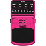 Behringer Heavy Metal HM300 Distortion Guitar Effects Pedal