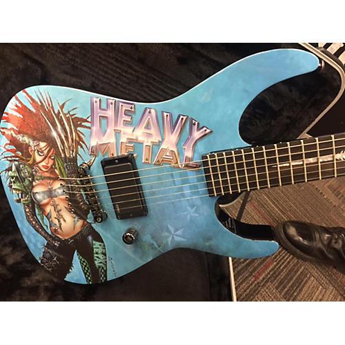 ESP Heavy Metal Metal 1 Solid Body Electric Guitar-thumbnail