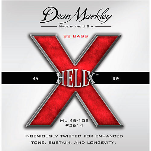 Dean Markley Helix HD SS Bass Guitar Strings-thumbnail