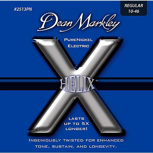 Dean Markley Helix Pure Nickel Regular Electric Guitar Strings (10-46)