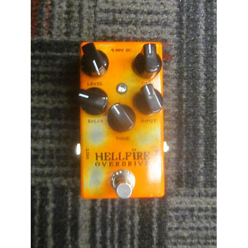 Weehbo Hellfire Overdrive Effect Pedal-thumbnail