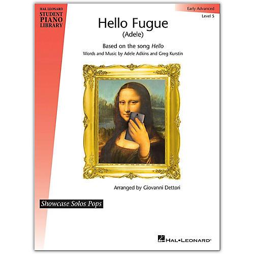 Hal Leonard Hello Fugue (Adele)-Hal Leonard Student Piano