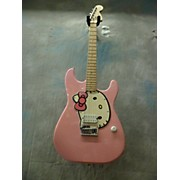 Squier Hello Kitty Affinity Stratocaster Solid Body Electric Guitar