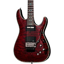 Hellraiser C-1 with Floyd Rose Sustainiac Electric Guitar Black Cherry