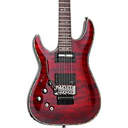Schecter Guitar Research Hellraiser C-1 with Floyd Rose Sustaniac Left-Handed Electric Guitar