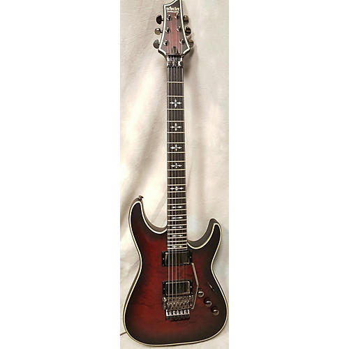 Schecter Guitar Research Hellraiser C1 Extreme Solid Body Electric Guitar Crimson Red Burst