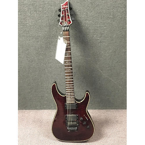 Schecter Guitar Research Hellraiser C1 Floyd Rose Solid Body Electric Guitar-thumbnail