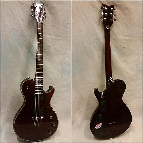 Schecter Guitar Research Hellraiser C1 Hybrid Solid Body Electric Guitar Black Cherry