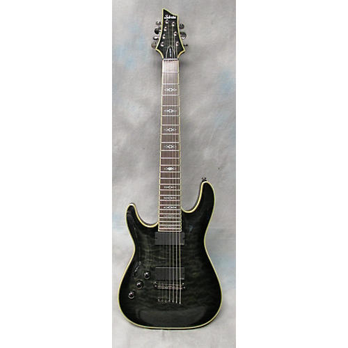 Schecter Guitar Research Hellraiser C7 7 String Left Handed Electric Guitar-thumbnail