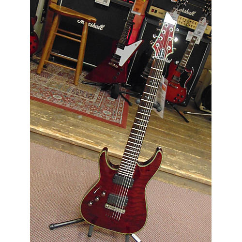 Schecter Guitar Research Hellraiser C7 7 String Solid Body Electric Guitar-thumbnail