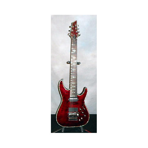 Schecter Guitar Research Hellraiser C7 Floyd Rose Sustaniac Solid Body Electric Guitar-thumbnail