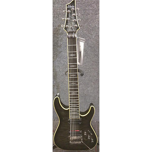 Schecter Guitar Research Hellraiser C7 Special 7 String Solid Body Electric Guitar-thumbnail