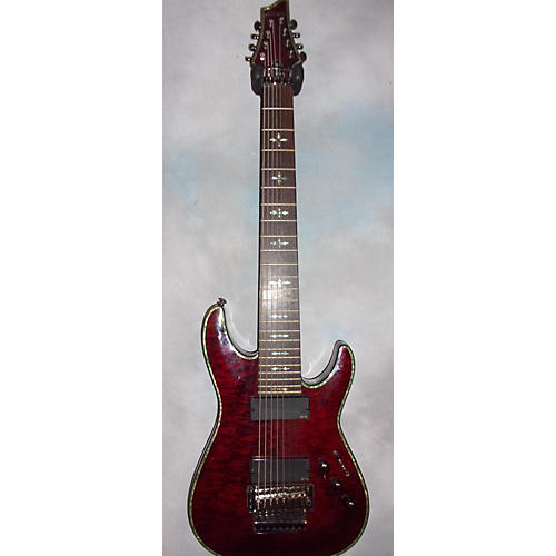 Schecter Guitar Research Hellraiser C8 8 Floyd Rose Solid Body Electric Guitar