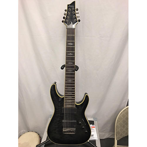 Schecter Guitar Research Hellraiser C8 Special 8 String Solid Body Electric Guitar-thumbnail