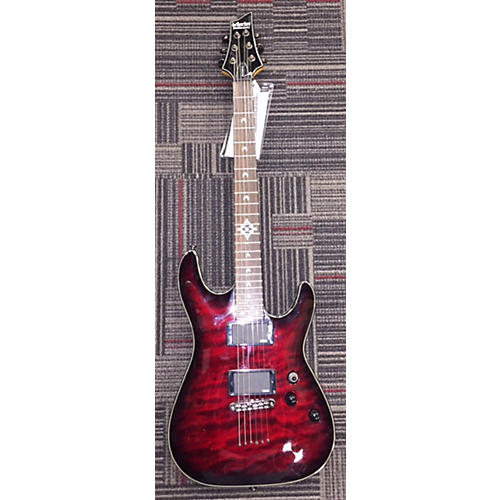 Schecter Guitar Research Hellraiser Deluxe Solid Body Electric Guitar