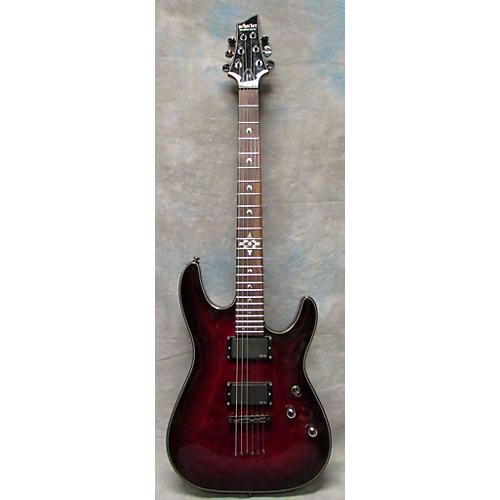 Schecter Guitar Research Hellraiser Deluxe Solid Body Electric Guitar-thumbnail