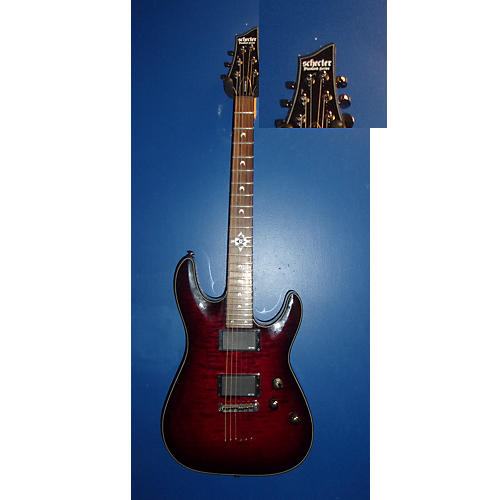 Schecter Guitar Research Hellraiser Dlx Solid Body Electric Guitar-thumbnail