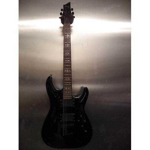 Schecter Guitar Research Hellraiser Solid Body Electric Guitar Black