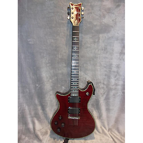Schecter Guitar Research Hellraiser Tempest Left Handed Solid Body Electric Guitar-thumbnail