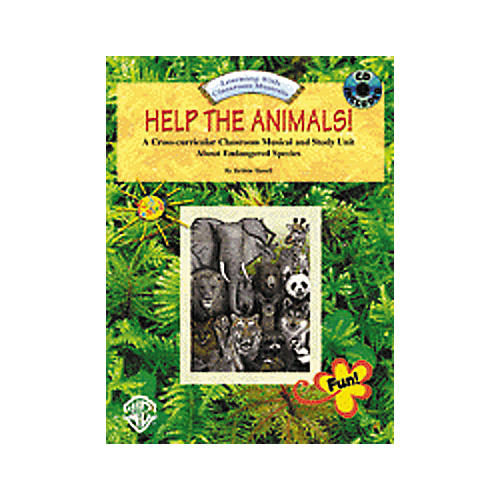 Alfred Help The Animals Book and CD-thumbnail