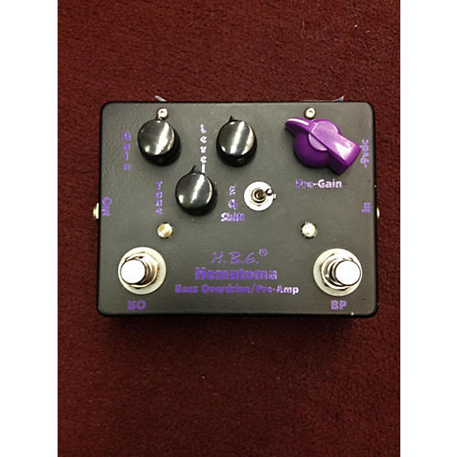 In Store Used Hematoma Bass Effect Pedal