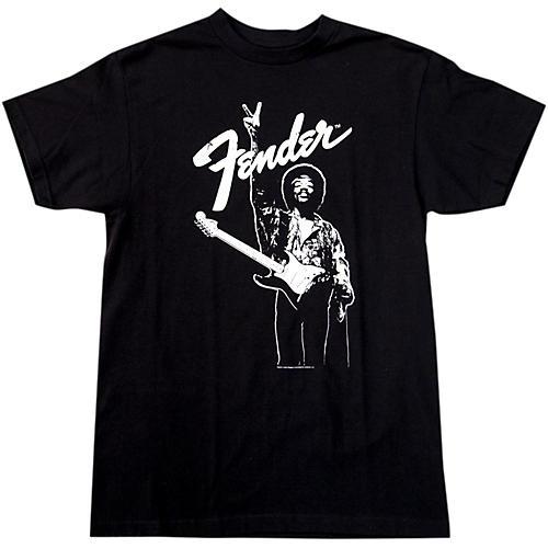 Fender Hendrix Peace Monochrome T-Shirt-thumbnail