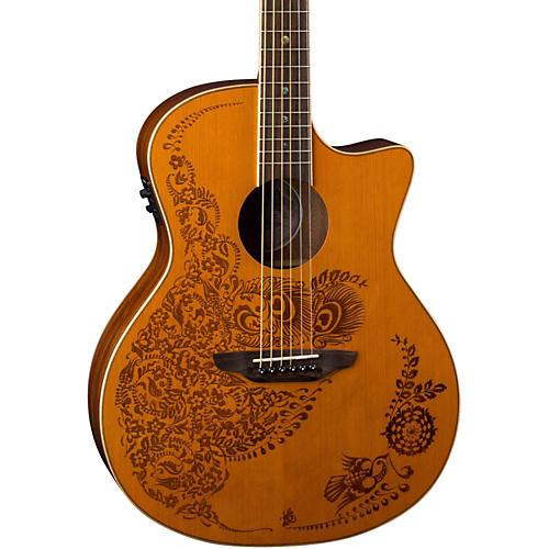 Luna Guitars Henna 0asis Cedar Acoustic-Electric Guitar-thumbnail