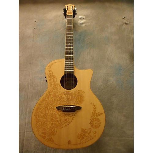 Luna Guitars Henna Oasis Acoustic Electric Guitar-thumbnail