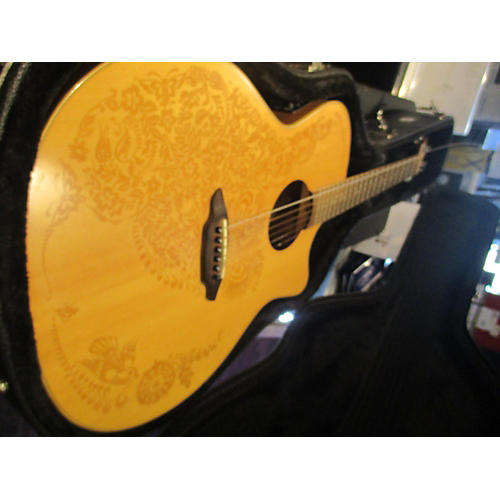 Luna Guitars Henna Oasis Series II Acoustic Electric Guitar