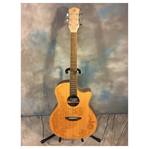 Luna Guitars Henna Oasis Series II Acoustic Electric Guitar-thumbnail