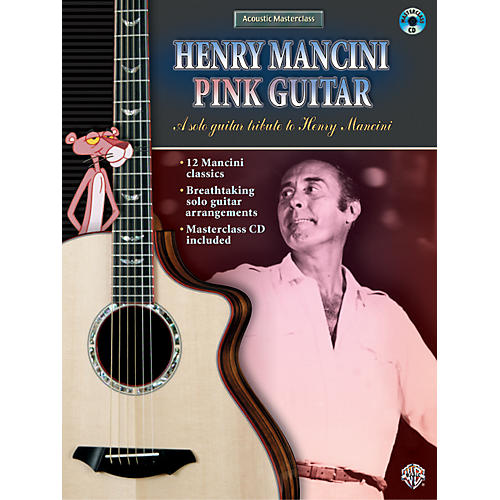Alfred Henry Mancini Pink Guitar (Book/CD)-thumbnail