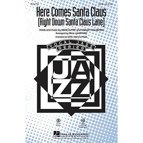 Hal Leonard Here Comes Santa Claus (Right Down Santa Claus Lane) ShowTrax CD Arranged by Paul Langford