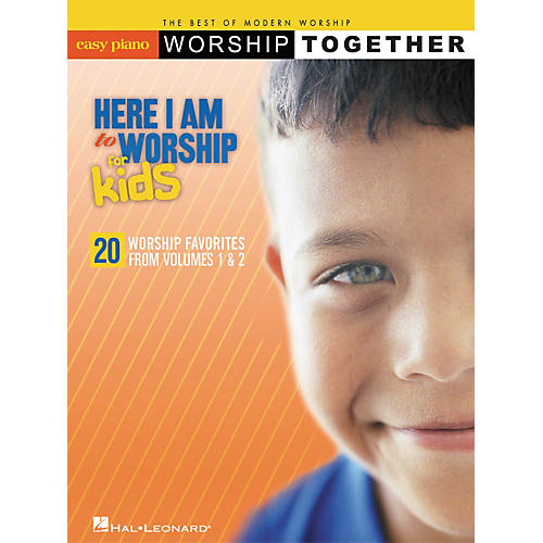 Hal Leonard Here I Am To Worship For Kids For Easy Piano-thumbnail