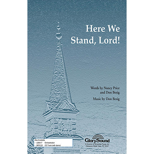 Hal Leonard Here We Stand Lord SATB