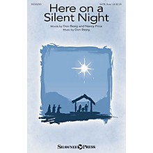 Shawnee Press Here on a Silent Night SATB W/ FLUTE composed by Don Besig