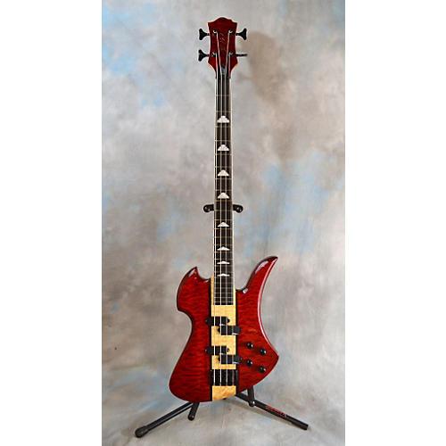 B.C. Rich Heritage Classic Mockingbird Bass Electric Bass Guitar-thumbnail