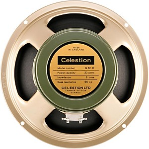 Celestion Heritage G12H 55Hz 30W, 12 inch Vintage Guitar Speaker by Celestion