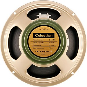 Celestion Heritage G12M 20W, 12 inch Vintage Guitar Speaker by Celestion